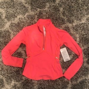Lululemon Zip Up Workout Shirt